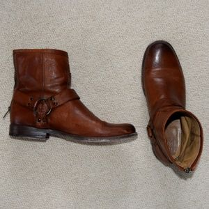 FRYE Rider Harness Boots
